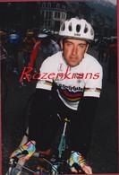 Luc Leblanc Photo Unique Echte Foto UCI Champion Du Monde Wereldkampioen Cyclisme Wielrenner Coureur Cycling Wielrennen - Cycling