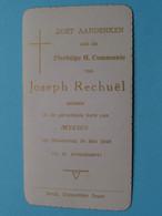 Plechtige H. Communie Van JOSEPH RECHUËL I/d Kerk Van MEESEN 30 Mei 1946 ( Details - Zie Foto's Voor En Achter ) ! - Kommunion Und Konfirmazion