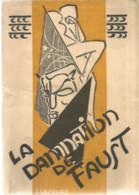 JY 1/ Program RARE PROGRAMME Théâtre OPERA  ROUEN 1928 Damnation De FAUST Hector BERLIOZ Cover LESOURD - Programma's
