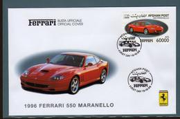 Ferrari Afghanistan Fdc F 550 Maranello 1999. - Automobili