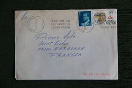 Timbres Sur Lettre De BARCELONA Vers NARBONNE - 1981-90 Covers