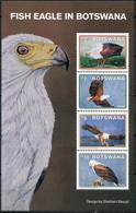 Botswana 2021. African Fish Eagle (Haliaeetus Vocifer) (MNH OG) Souvenir Sheet - Botswana (1966-...)