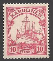 Deutsche Kolonien Karolinen Michel Nummer 9 Ungebraucht Falz - Colony: Caroline Islands