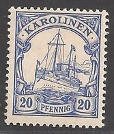 Deutsche Kolonien Karolinen Michel Nummer 10 Postfrisch - Colony: Caroline Islands