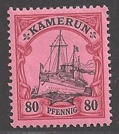 Deutsche Kolonien Kamerun Michel Nummer 15 Ungebraucht Falz - Colony: Cameroun
