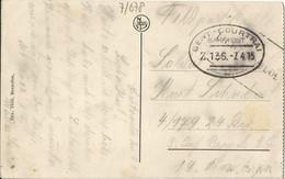 "20 045 Ak Tournai Bahnpost ""GENT-COURTRAI"" 1915 - Cartas"