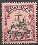 Deutsche Kolonien Karolinen Michel Nummer 14 Ungebraucht Falz - Colony: Caroline Islands