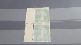 LOT549296 TIMBRE DE FRANCE NEUF** LUXE VARIETE RECTO VERSO - Collections