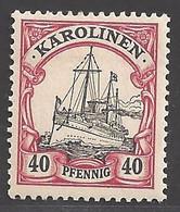 Deutsche Kolonien Karolinen Michel Nummer 13 Ungebraucht Falz - Colony: Caroline Islands