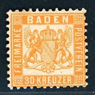 Baden Michel Nummer 22b Ungebraucht X Geprüft - Mehrere Zur Auswahl - Baden