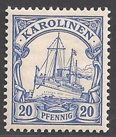 Deutsche Kolonien Karolinen Michel Nummer 10 Ungebraucht Falz - Colony: Caroline Islands