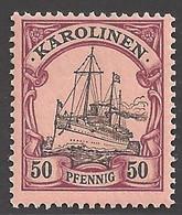 Deutsche Kolonien Karolinen Michel Nummer 11 Postfrisch - Kolonie: Carolinen