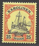Deutsche Kolonien Karolinen Michel Nummer 11 Ungebraucht Falz - Colony: Caroline Islands