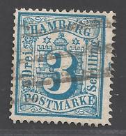 Hamburg Michel Nummer 15 Gestempelt - Hamburg