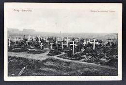 Feldpostkarte 1. WK - Kriegsschauplatz Militär Ehrenfriedhof Fournes 1916 - War 1914-18