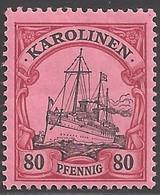 Deutsche Kolonien Karolinen Michel Nummer 15 Ungebraucht Falz - Colony: Caroline Islands