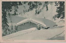 Verschneite Alm Am Waldrand - 1919 - Andere