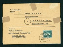Berlin UPU Michel Nummer 36 Einzelfrankatur 1949 - Zonder Classificatie
