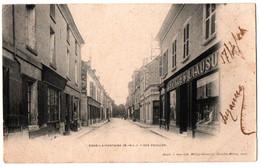 CPA 49 - DOUE LA FONTAINE (Maine Et Loire) - Rue Foullon - Dos Simple - Doue La Fontaine
