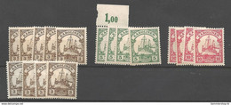 Deutsche Kolonien Karolinen Lot Postfrisch - 44,50 EUR Michel - Kolonie: Carolinen