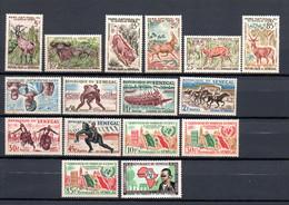 W-8  Sénégal N° 198 à 213 **  A Saisir !!! - Sénégal (1960-...)