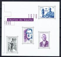 FRANCE 2020 F5446 CHARLES DE GAULLE ** - Neufs