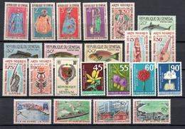 W-8  Sénégal Année Complète 1966 N° 266 à 287 **  A Saisir !!! - Senegal (1960-...)