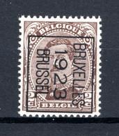 PRE69B-II MNH** 1923 - BRUXELLES 1923 BRUSSEL - Tipo 1922-26 (Alberto I)