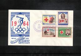 Guatemala 1964 Olympic Games Tokyo FDC - Summer 1964: Tokyo