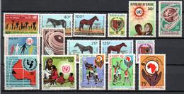 W-8  Sénégal Année Complète 1971 N° 341 à 360 **  A Saisir !!! - Sénégal (1960-...)