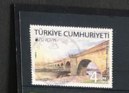 (stamps 3-7-2021) Used EUROPA - Turkey - 2018 - 2018