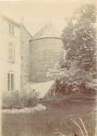 PHOTO ANCIENNE - 88 VOSGES EPINAL 1894 LES JARDINS DU DOMAINE LA TOURELLE - Epinal