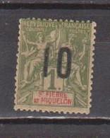 SAINT PIERRE ET MIQUELON           N°  YVERT  :  104  NEUF AVEC  CHARNIERES      (CH  4 / 23 ) - Unused Stamps