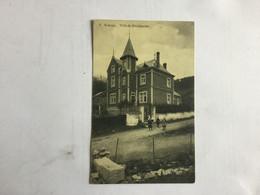 SOSOYE   VILLA DE FROIDMONT   1912 - Anhee