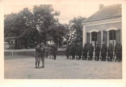 ¤¤   -  SAINT-GAULTIER  -  Lot De 3 Clichés Du 14 Juillet 1940  -  Cérémonie Au Monument Aux Morts, Gare , Militaires - Autres Communes