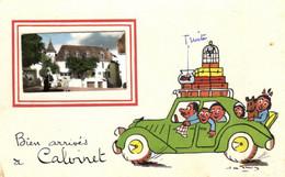 15 - Cantal - Calvinet - Bien Arrivés - E 5451 - Other Municipalities
