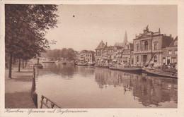2606302Haarlem, Spaarne Met Teijlermuseum – 1934 (minuscule Vouwen In De Hoeken) - Haarlem