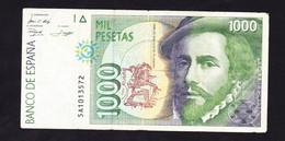 BANKNOTES-SPAIN-1000-CIRCULATED-SEE-SCAN - [ 4] 1975-…: Juan Carlos I.