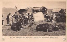 ROMANIA - Romanian Peasants In Migrant Camp - Ed. König-Karol Verlag - Rumania