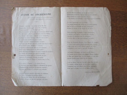 AVENIR DU FOURIERISME VERTS DITS PAR ANTONIN BEAUCHOT LORS DE L'ANNIVERSAIRE DE CHARLES FOURRIER LE 7 AVRIL 1910 - Non Classificati