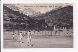 CP ITALIE BARDONECCHIA Borgo Vecchio Campo Di Tennis - Andere Steden