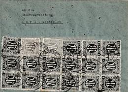 Brief Alliierte Besetzung AM Post Soest Vom 25.2.1946 - Amerikaanse, Britse-en Russische Zone