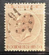 België, 1865-66,  Nr. 19A, L91 COUILLET, OBP 11.5€ - 1865-1866 Profiel Links