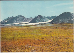 SVALBARD, SPITZBERGEN - Mountain View At The Advent Bay.  Used - Norway