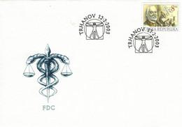 Josef Thomayer Arzt Prag - Trhanov 2003 - Medicina