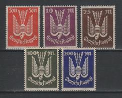 GERMANY REICH 1923 WEIMAR Mi 263-267 MNH ** FULL SET - Nuevos