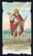 Santino/holycard: S. GIULIANO M. - Rimini - E - PR - Cromolitografia - Religione & Esoterismo