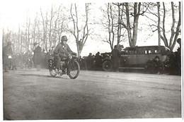 ANCIENNE  PHOTO  MOTO  - 1928 - Automobili