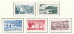 Sweden 1974 Facit # 874-878. West Coast. Singles, MNH (**) - Nuovi