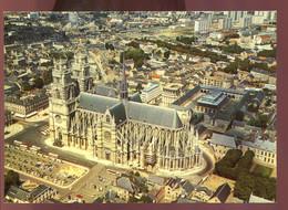 CPM Neuve 45 ORLEANS Vue Aérienne De La Cathédrale Sainte Croix - Orleans